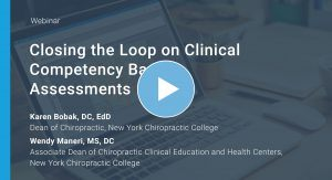 Closing the Loop on Clinical Competency Based Assessments