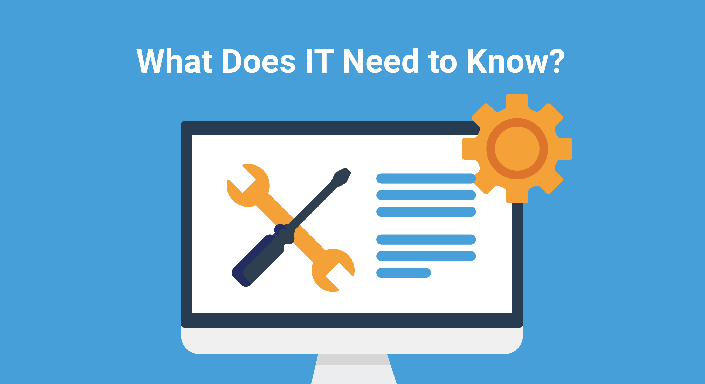 What does IT need to know about Exam Software