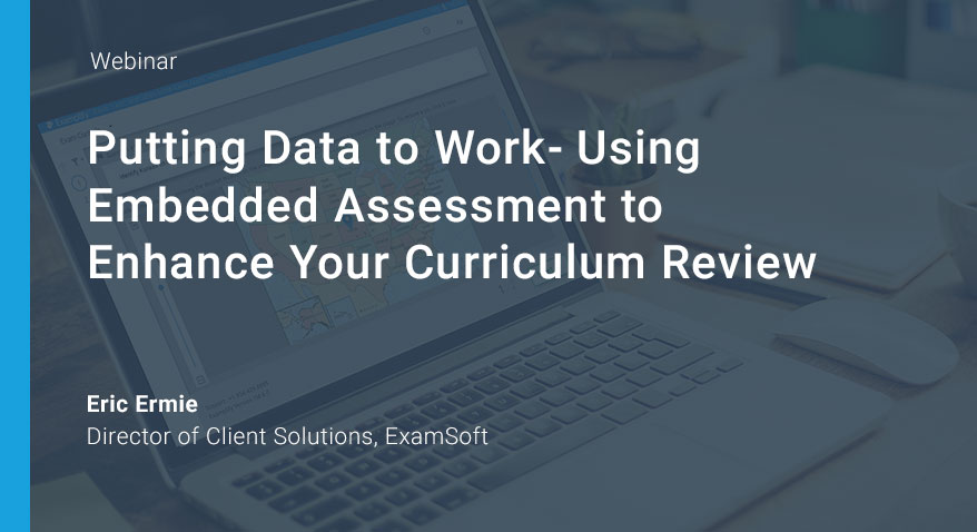Data-driven Assessments