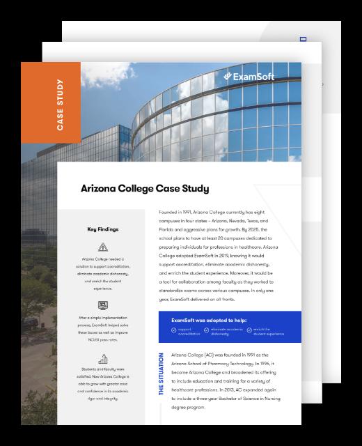 Arizona College Case Study